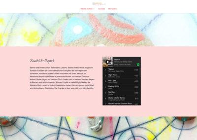 Farben der Heilung Sweet Spot und Playlists