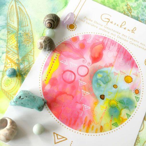 Orakelkarte Geschenk