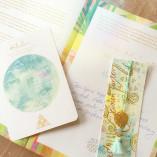 Sitara Business Flow Kreativ-Buch mit individueller Widmung, Karte und Lesezeichen