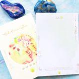 Aloha-Flow Kreativ-Journal + Block Liebe