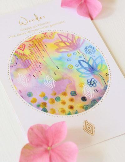 Orakelkarte Wunder aus dem Love & Shine Orakelkarten-Set