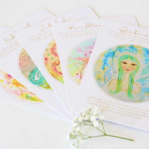Orakelkarten aus dem Orakelkarten-Set Seelenmagie