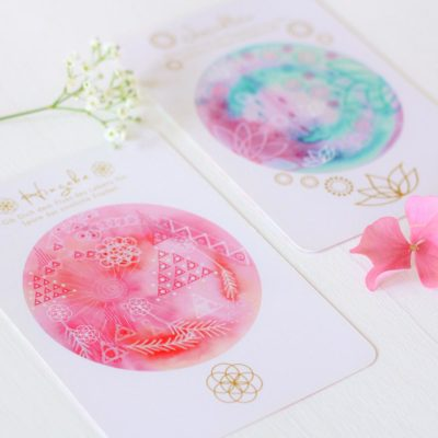 Orakelkarten aus dem Orakelkarten-Set Love & Shine