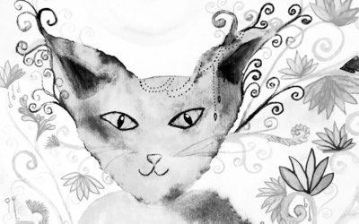 Die schwarze Katze – Mut hat eine besondere Energie