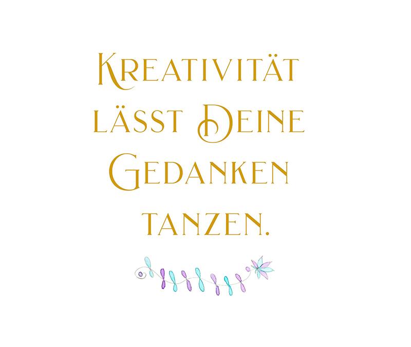 Kreativität lässt Deine Gedanken tanzen – Poesie